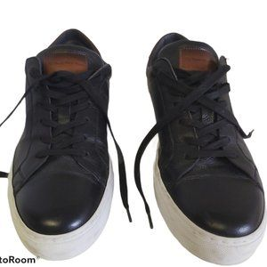 To Boot NY Knox black low-top leather sneaker